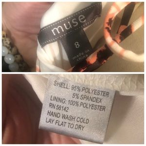 Muse Dresses - Muse - Tie in the Back Dress